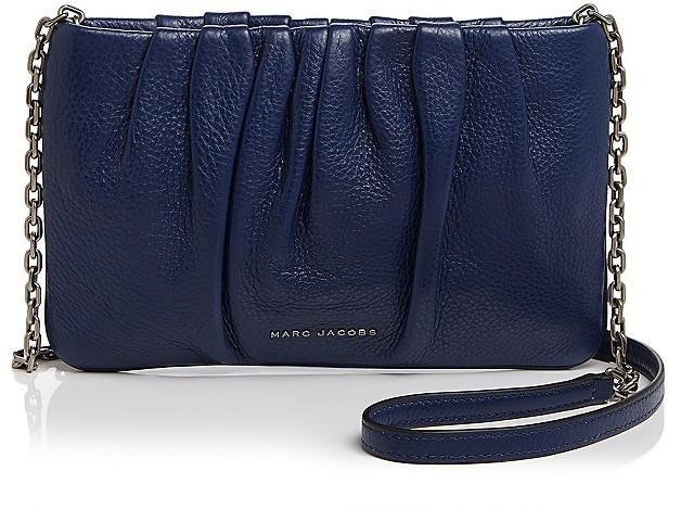 Marc JacobsMARC JACOBS Gathered Pouch With Chain Crossbody