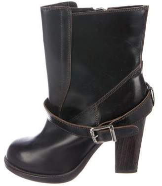 Chloé Patent Leather Ankle Boots