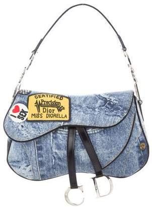 Christian Dior Miss Diorella Saddle Bag 74c6a724cde93