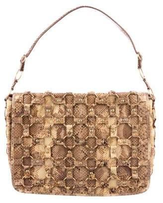 Christian Dior Python Croisette Bag