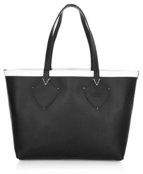 Burberry Leather Reversible Tote