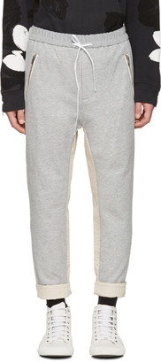 3.1 Phillip Lim Grey Tapered Lounge Pants $295 thestylecure.com