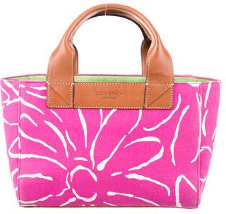 Kate SpadeKate Spade New York Floral Print Canvas Handle Bag