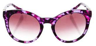 Dolce & Gabbana Patterned Gradient Sunglasses