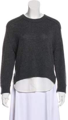 Brochu Walker Long-Sleeve Wool Sweater
