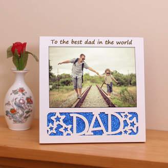 GiftsOnline4U Dad Personalised Photo Frame
