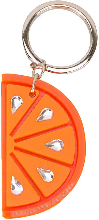 Charlotte OlympiaCharlotte Olympia orange keyring