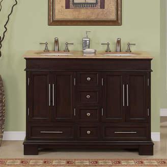 "Three Posts Mcmiller 48"" Double Bathroom Vanity Set"