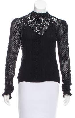 RRL & Co. Crocheted Long Sleeve Top w/ Tags
