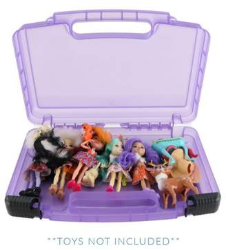 Life Made Better Enchantimals Dolls Case, Toy Storage Carrying Box. Figures Playset Organizer. Accessories For Kids by LMB