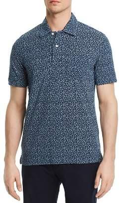 Brooks Brothers Mini Floral Slim Fit Polo Shirt