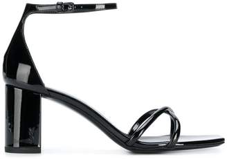 Saint Laurent ankle strap sandals