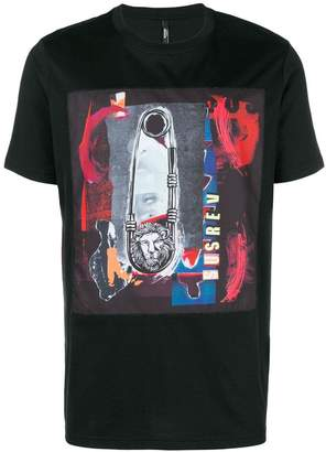 Versus safety pin print T-shirt