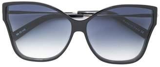 Christian Roth Eyewear Tripale butterfly frame sunglasses