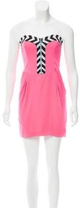 Mara Hoffman Embellished Mini Dress