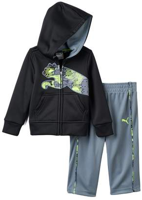 Puma Baby Boy Fleece Jacket & Pants Set