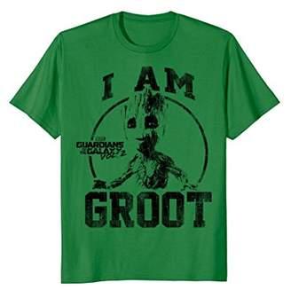 Marvel Guardians Vol.2 I Am Groot Collegiate Vintage T-Shirt