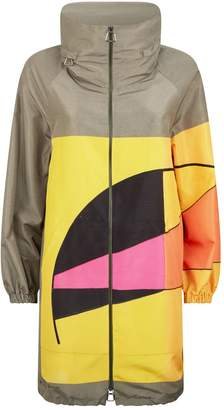Akris Bilbao Sunrise Parka Coat