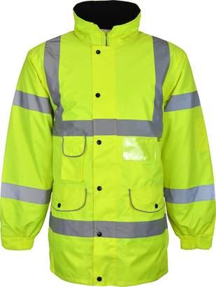Kentex Online Men's High Visibility Long Padded Winter Warm Jackets
