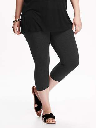 Old Navy Jersey Plus-Size Capri Leggings