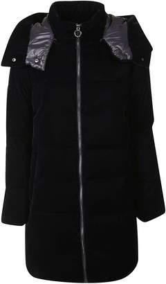 Michael Kors Logo Hooded Coat
