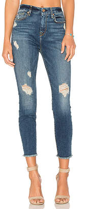 7 For All Mankind High Waist Ankle Skinny $219 thestylecure.com