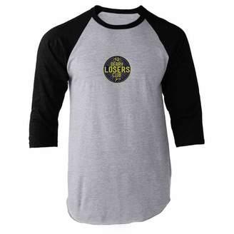 Club L Pop Threads Derry Losers Raglan Baseball Tee Shirt