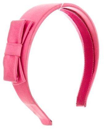 Miu MiuMiu Miu Satin Bow-Embellished Headband