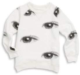 Nununu Toddler's & Little Boy's Eye Cotton Sweatshirt