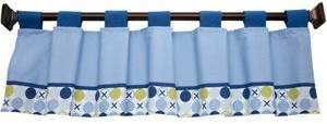 NoJo Simply Baby By Hugs & Kisses Boy Window Valance