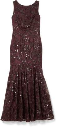 Vince Camuto Sequin-embellished Gown