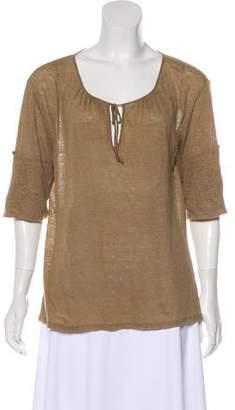 Max Mara Weekend Casual Scoop Neck T-Shirt