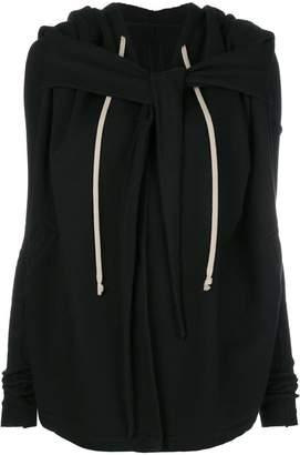 Rick Owens shawl jersey cardigan
