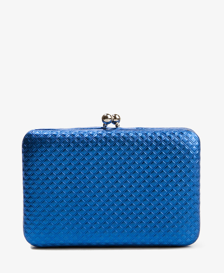Forever 21 Structured Metallic Wallet