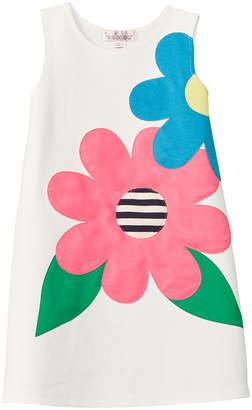 Halabaloo Flower Applique Dress