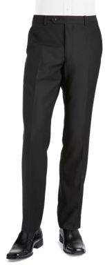Black & Brown Black Brown Jack Fit Slim Woven Flat Front Dress Pants