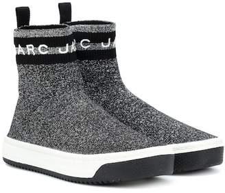 Marc Jacobs Logo Dart metallic sneakers