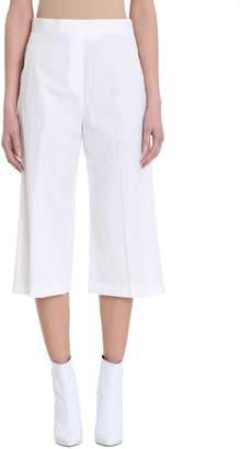 Neil Barrett White Cropped Trouser