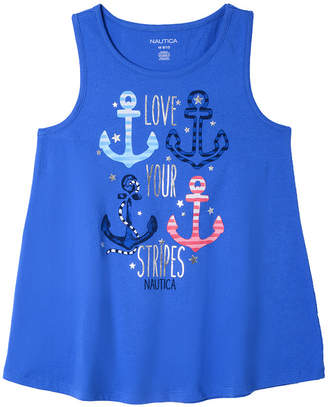 Nautica Love Your Stripes Anchors Tank