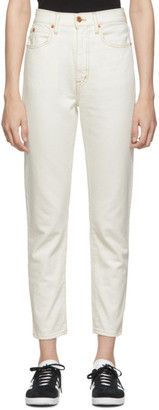 Off-White Slvrlake SLVRLAKE Beatnik Cropped Jeans