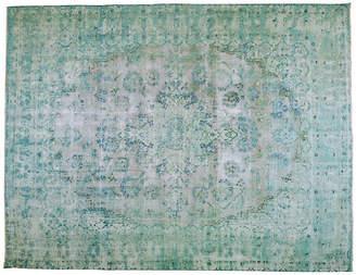 """One Kings Lane Vintage Persian Kerman Rug - 9'10"""" x 12'10"""" - Orientalist Home"""