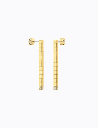 Calvin Klein tune gold crystal earrings
