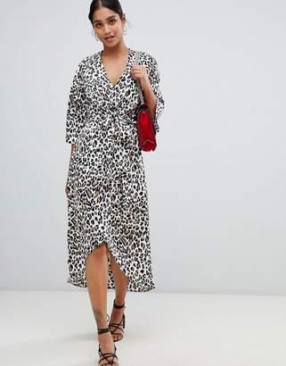 Leopard Print Sequin Dress - ShopStyle UK 1c65d8b99