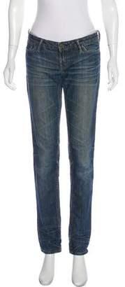 AllSaints Carson Mid-Rise Jeans