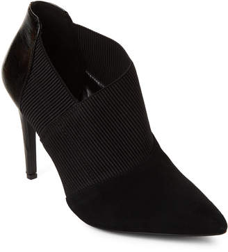 Nine West Black Zaayer Stretch Ankle Booties