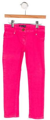 Blumarine Girls' Five Pocket Pants