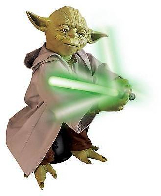Spin Master Star Wars Legendary Yoda with Lightsaber