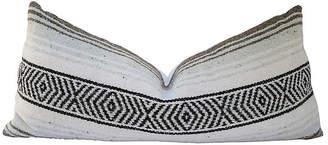 One Kings Lane Vintage Aztec-Style Blanket Body Pillow - AntiqueLifestyle