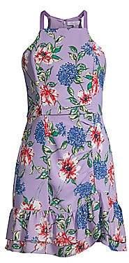 Parker Women's Amina Floral Halter Dress - Size 0