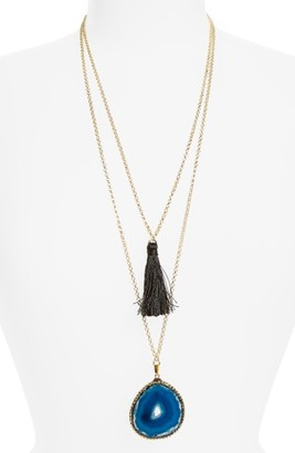 Women's Shashi Gemma Pendant Necklace $102 thestylecure.com